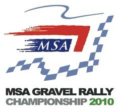 MSA Gravel Rally Championship 2010 logo