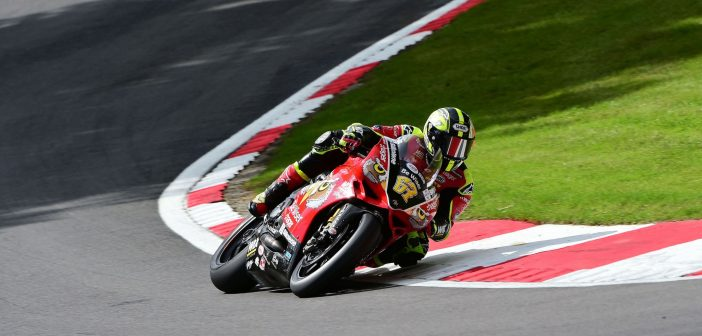 Row Two Start At Brands Hatch For Byrne