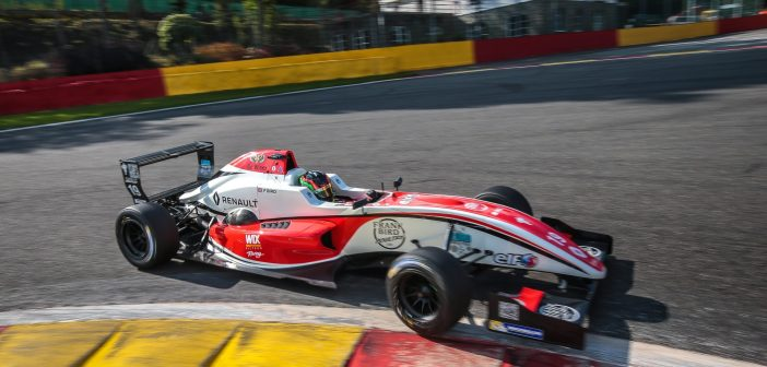 Confident Frank Finds Form At Spa