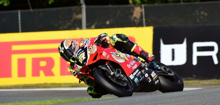 Front Row Start For Byrne At Oulton Park