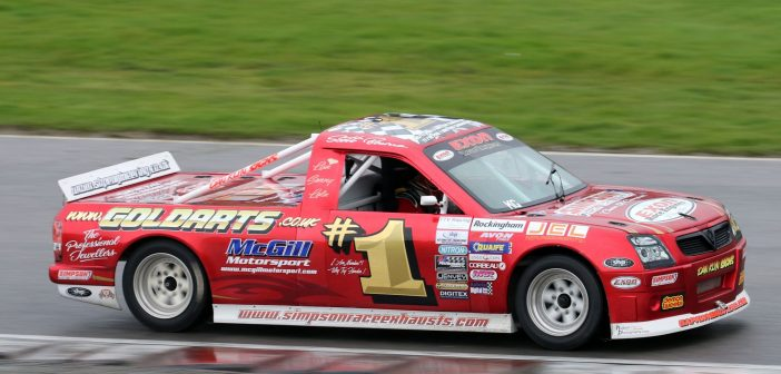 Pickup Trucks Highlight BARC Race Weekend At Croft
