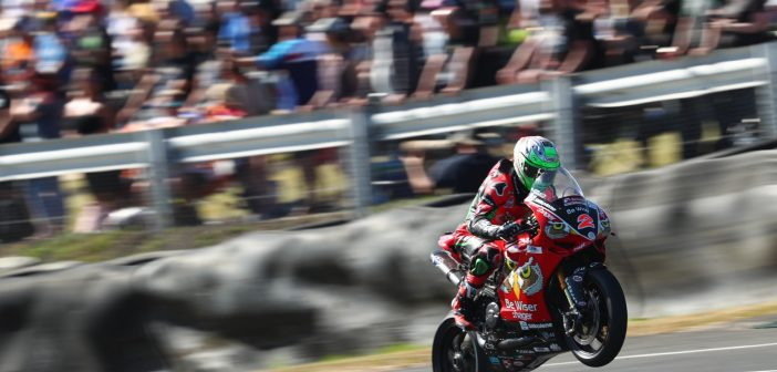Solid Points For Be Wiser Ducati At Knockhill