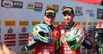 Irwin Brothers Claim Historic Thruxton Front Row