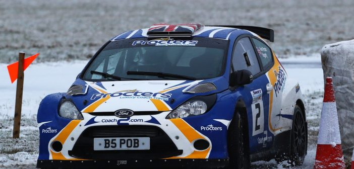 Procter Leads Croft Rally Entry